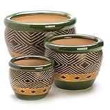 Best Gifts & Decor Garden Gifts - Gifts & Decor Ceramic Jade Garden Planters Flower Review