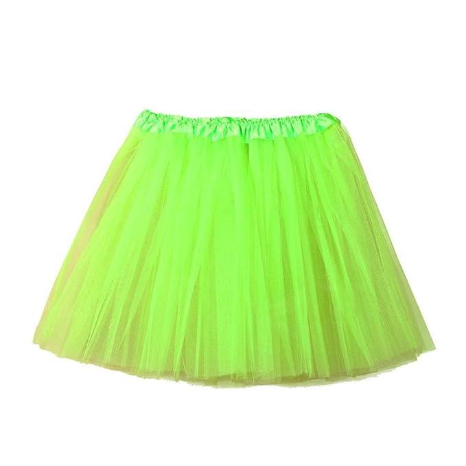 Fuibo [Damen Röcke Womens hochwertige Plissee Gaze kurzen Rock ...
