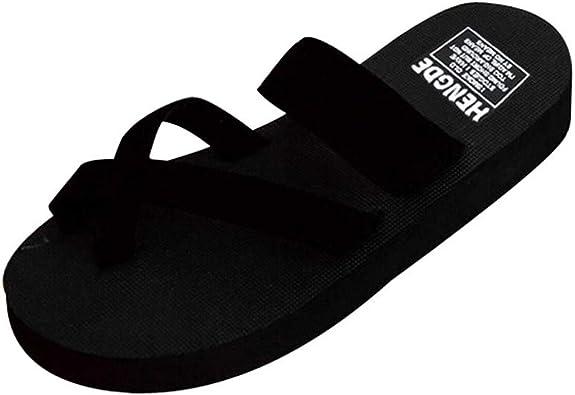 Gillberry Flip Flops Platform Sandals