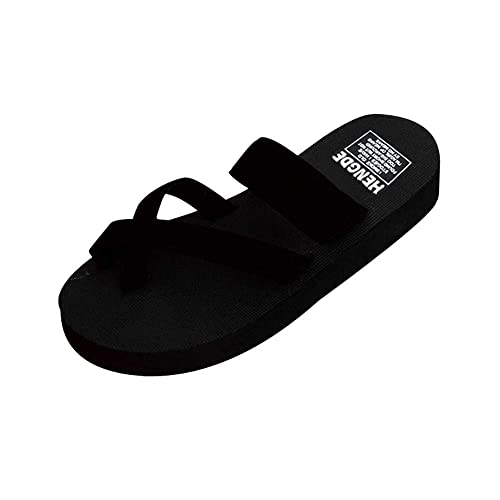 f11e09a65d297a Voberry Womens Summer Flip Flops Casual Slippers Flat Sandals Beach Open  Toe Shoes  Buy Online at Low Prices in India - Amazon.in