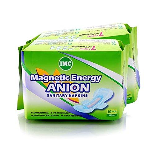 Buy IMC Anion Sanitary NapkinsMagnetic Energy ANION Napkins Online At Low Prices In India