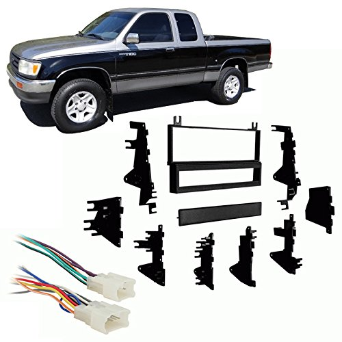 Compatible with Toyota T100 1993-1998 Single DIN Stereo Harness Radio on 1996 toyota camry wiring harness, toyota engine wiring harness, 2000 toyota camry wiring harness, 1993 honda civic wiring harness, 1986 toyota pickup wiring harness, 1992 toyota pickup wiring harness, 2003 toyota camry wiring harness, 1991 toyota pickup wiring harness, 1994 toyota pickup wiring harness, 1993 toyota mr2 wiring harness, 1993 mazda rx7 wiring harness, 2001 toyota camry wiring harness, 1979 toyota pickup wiring harness, 1989 toyota pickup wiring harness, toyota 22re wiring harness, 2008 toyota 4runner wiring harness, 1985 toyota pickup wiring harness, 1990 toyota pickup wiring harness, 1993 plymouth sundance wiring harness, 1993 nissan pathfinder wiring harness,