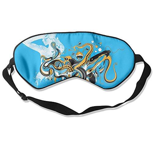Sleep Mask Vector Girl Eye Cover Blackout Eye Masks,Soothing Puffy Eyes,Dark Circles,Stress,Breathable Blindfold -