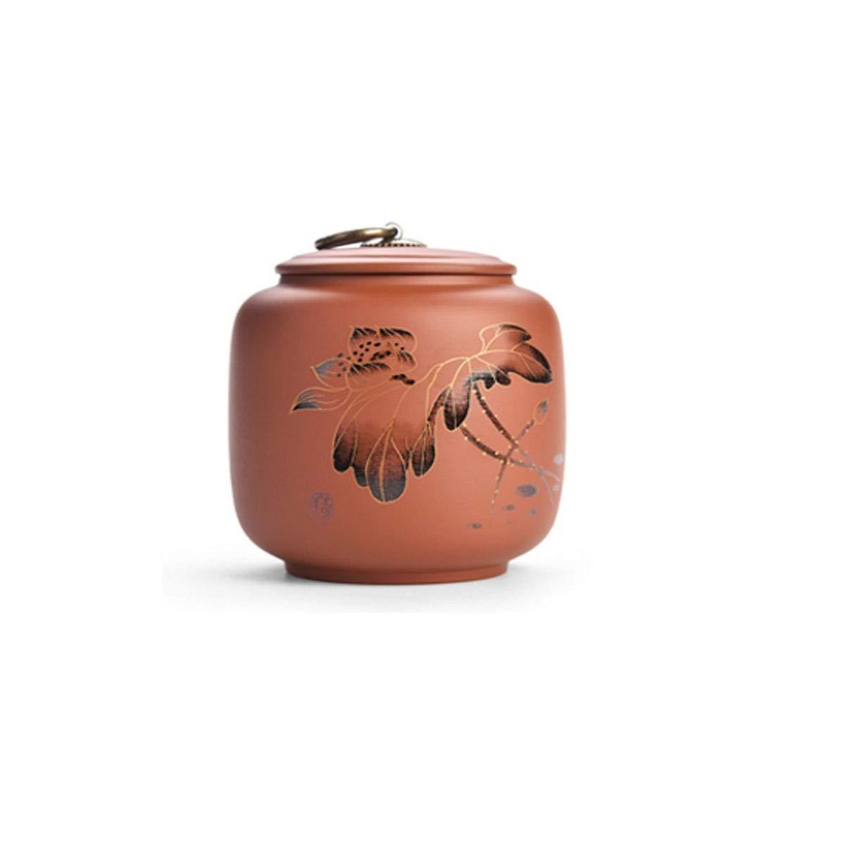 Auspicious cans [Lotus] Purple Sand Sealed Ashes, Auspicious Pots, Ceramic Pet Caskets, Portable Pet Caskets, Ceramic Sealed Urns, Cat Boxes, Dog Boxes, Celadon Storage Boxes, Sealed Coffins, Pet Boxes,