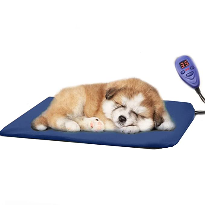 ... cama de perrito almohadilla caliente Sannysis Almohadillas térmicas eléctricas Manta Mat Cama para perro, Impermeable IP67 - 30x40cm (azul): Amazon.es: ...