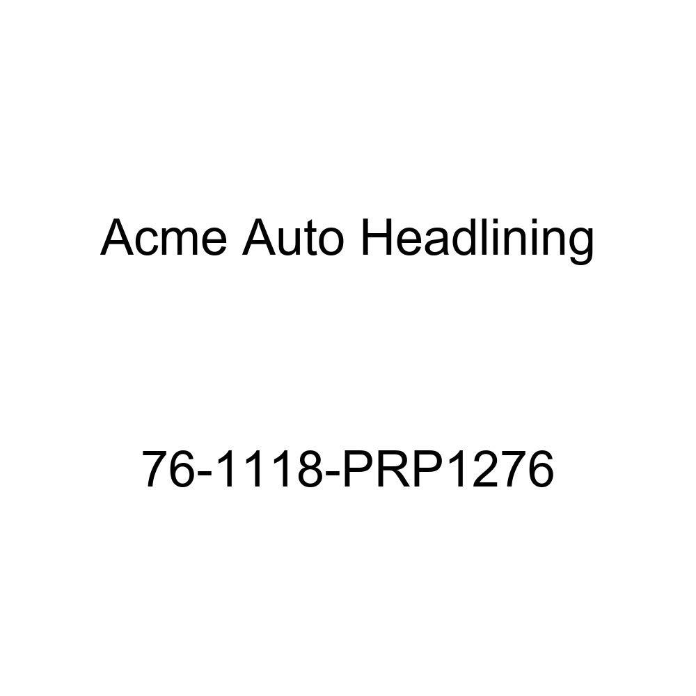 8 Bow Acme Auto Headlining 76-1118-PRP1276 Dark Green Replacement Headliner 1976 Buick Estate Wagon 4 Door Wagon