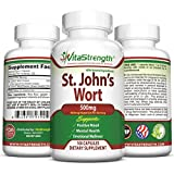 St. John's Wort - 500mg x 100 Capsules - Saint Johns Wort Extract for Mood Support - Promotes Mental Health & Positive Emotional Wellness