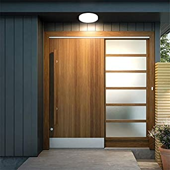 /Ø24cm,1650LM Deckenleuchte LED,Airand 18W Deckenlampe Kaltwei/ß Wasserfest IP44 Badlampe LED Wand Deckenleuchte f/ür Flur K/üche Badezimmer Bad Schlafzimmer Balkon Wohnzimmer