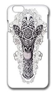 Apple Iphone 6 Case,WENJORS Adorable Giraffe II Hard Case Protective Shell Cell Phone Cover For Apple Iphone 6 (4.7 Inch) - PC 3D