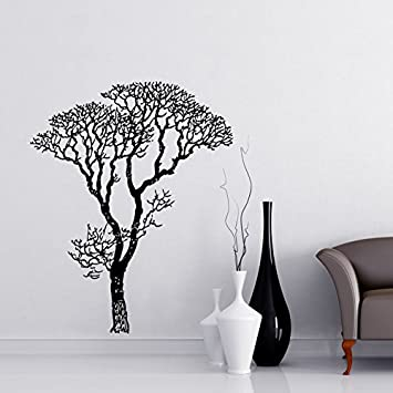 Bare Tree Branches Wall Decal Sticker By Stickerbrand   Black, 6ft Tall  (72in Tall Part 67