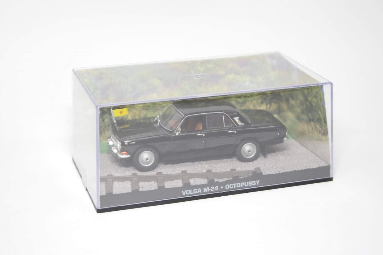 Volga m-24//coche modelo//negro//nuevo//James Bond//1:43