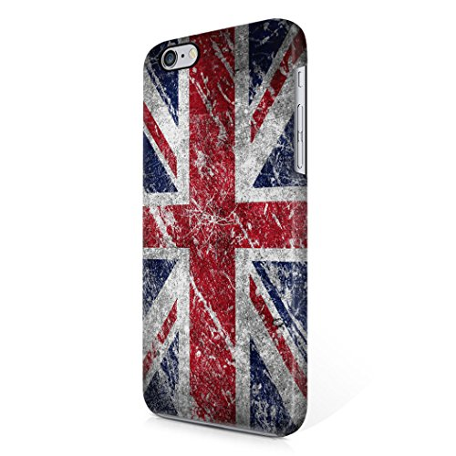 London Great Britain England Flag Hard Plastic iPhone 6 Plus / iPhone 6S Plus Phone Case Cover