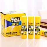 Treading - Deli branded Glue Stick good slip drying solid PVP material school Office Supplies Sticks net weight 8g