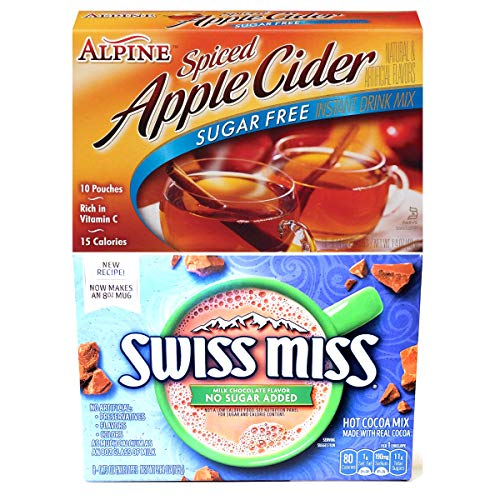 Sugar Free Apple Cider and No Sugar Added Hot Chocolate Bundle