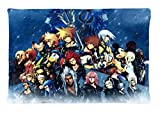 minitokyo anime kingdom hearts Custom Diy Image Pillowcase Rectangle Pillow Cases Standard Size 20X30 inches New