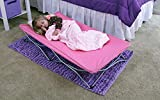 Regalo My Cot Portable Toddler Bed, Includes Fitted Sheet and Travel Case, Pink