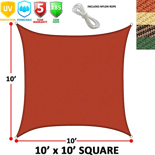 Modern Home Sail Shade Square 10 Sides