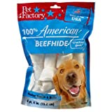 Pet Factory 949043 Usa 6-Inch Medium Dog Assorted Chews for Dogs, 4-Pack