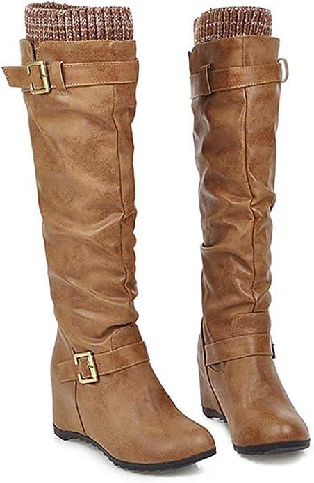 Damen Stiefeletten Stiefel Kniestiefel Winterstiefel Schuhe Boots Winterschuhe