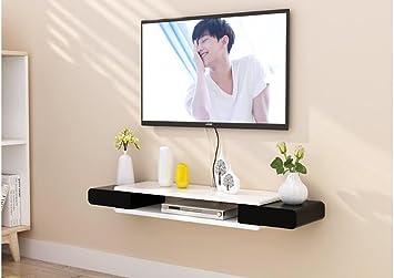Amazonde Wandregal Tv Schrank Set Top Box Regale Wohnzimmer Tv