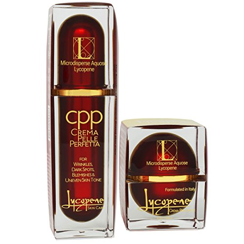 Lycopene Skin Care - Ultimate Value Pack - Luxury Skin Cream and Moisturizer to Lighten Dark Spots with Natural Ingredients