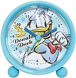 Disney 目覚まし時計 ラウンドアラームクロック アナログ表示 ドナルドダック 734382