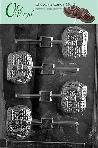 Cybrtrayd S070 Sports Chocolate Candy Mold Fishing Basket Lolly