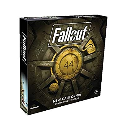 FFG Fallout: The Board Game California Expansion: Toys & Games