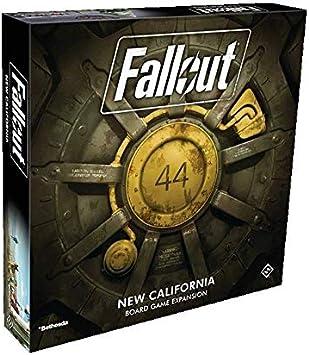 Fantasy Flight Games FFGZX03 Fallout: New California Expansion, varios colores , color/modelo surtido: Amazon.es: Juguetes y juegos