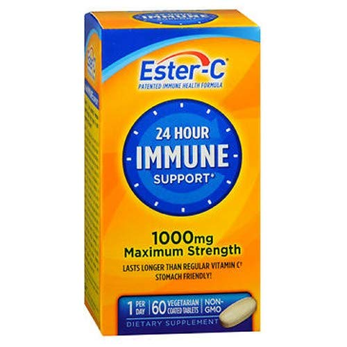 Ester-C Vitamin C, 1,000 mg, 60 Coated Tablets