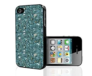 Blue Crystals and Gemstones Hard Snap on For Iphone 6 4.7 Phone Case Cover (For Iphone 6 4.7 Phone Case Cover )