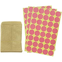"100 PCS 5.1"" x 3.5"" Seed Packets Seed Envelopes Seed Paper Bags with 120 PCS Seal Dot Stickers for Flowers, Vegetable, Party Favors, Weddings"
