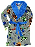 Lego Jurassic World Dinosaur Boys Fleece Bathrobe