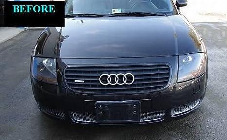 ... 2000-2007 AUDI TT CHROME GRILL GRILLE KIT 2001 2002 2003 2004 2005 2006 00 01 02 03 04 05 06 07 QUATTRO ROADSTER COUPE CONVERTIBLE TURBO: Automotive