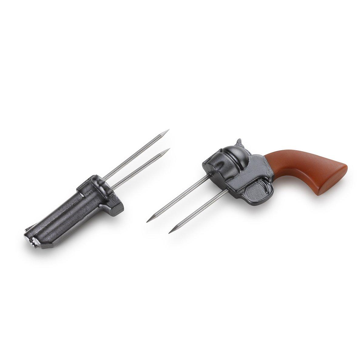 Demdaco 3005051124 Big Sky Carvers Revolver Corn Holders Set, Multicolored