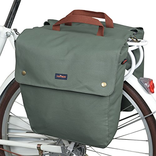 Bags Rear Rack Roll-up Bicycle Panniers Waterproof ()