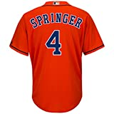 George Springer Houston Astros Cool Base Men's Orange Jersey