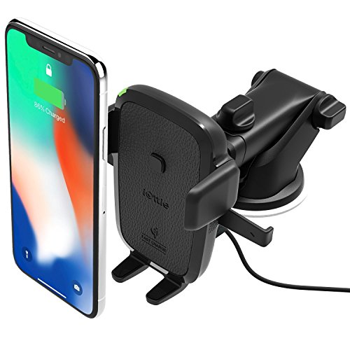 iOttie quick One impression Qi handheld quickly cost auto Mount for Samsung Galaxy S9 S9 Plus S8 S7/S7 Edge Note 8 5 & Standard cost for iPhone X 8/8 Plus & Qi allowed methods incorporates parallel auto Charger