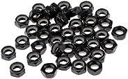 KLIZZA 40 Pieces/Pack Sturdy Skateboard Longboard Trucks Wheels Axle Nuts Black