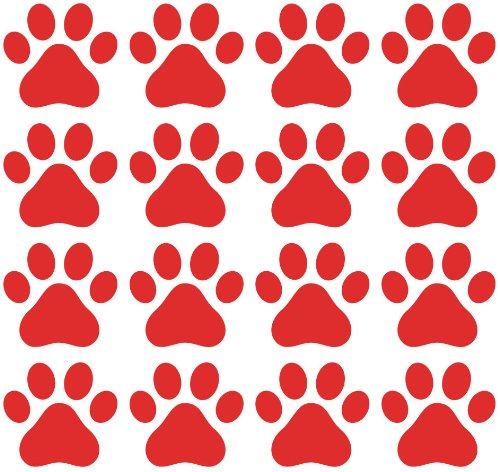 Small Pawprint - Dog Paw Print - Matte Vinyl Decal Sticker YYDC (2.25
