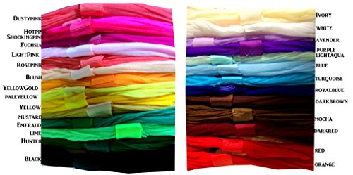 Set of 28 - Soft Nylon Baby Newborn Pantyhose Headbands with Loop! Wholesale Lot! from PoshNPretty
