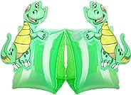MoKo Inflatable Swim Floater Sleeves for Kids, Cartoon Swimiming Armbands Floaties Water Wings Floatation Slee