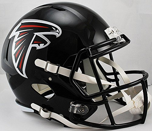(Riddell NFL Atlanta Falcons Replica Speed Full Size Football Helmet)