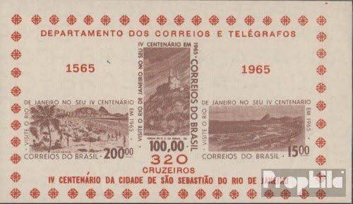 Prophila Collection Brasil Bloque 15 (Completa.edición.) 1965 400 años Río de Janeiro (Sellos para los coleccionistas): Amazon.es: Juguetes y juegos