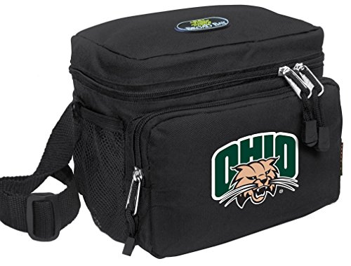 Broad Bay Ohio University Lunch Bag OFFICIAL NCAA Ohio Bobcats Lunchboxes by Broad Bay