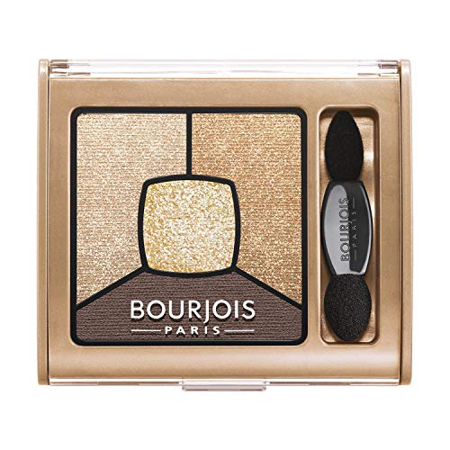 Bourjois Smoky Stories Quad Eyeshadow Palette (16 Gold Edition)