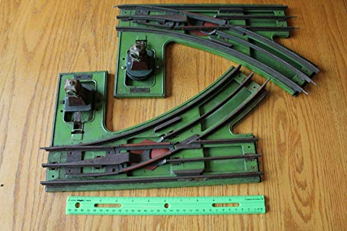 Lionel standard switch illuminated 210 tracks vintage train toy tracks ()