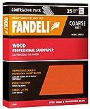 Fandeli 36009 Coarse Grit Wood Sandpaper Sheets, 9''  x 11'', 25-Sheet