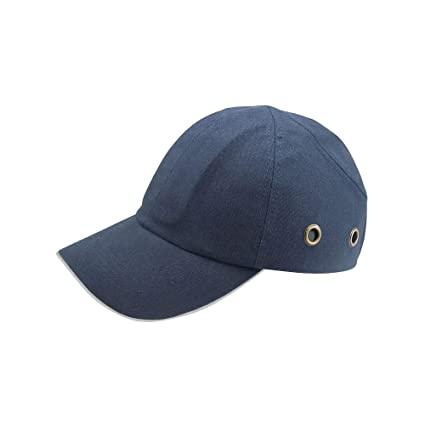 3347de14a2f Image Unavailable. Image not available for. Color  ARAN SAFETY Blue  Baseball Bump Cap ...