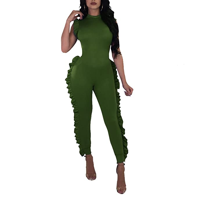 Amazon.com: kafiloe para mujer una pieza traje manga corta ...
